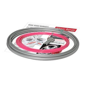 WheelBands Silver Track Pink Insert